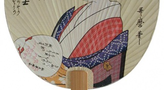 Как сделать японский веер