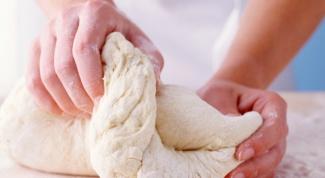 Как приготовить пресное тесто
