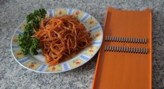 Как делать морковь по корейски