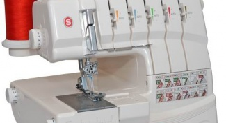 How to fill the thread in the serger