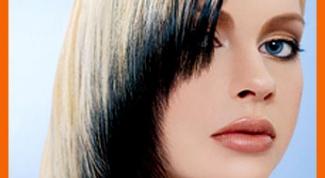 Как осветлить крашенные черные волосы