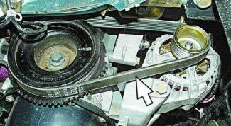Как проверить натяжение ремня привода генератора
