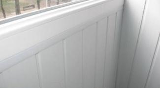 Как обшить балкон пластиком