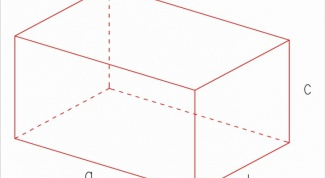 How to find the surface area of a rectangular parallelepiped