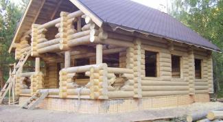 Как построить бревенчатый дом