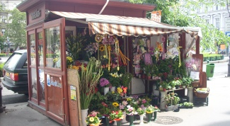 How to open a flower stall