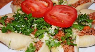 Как готовить фаршированные макароны