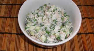 Как готовить салат рыбный