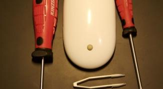 Как чистить мышь
