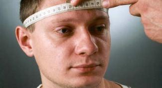 Как определить размер головы