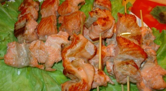 Как готовить шашлык из семги