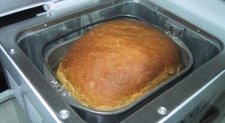Как испечь в хлебопечке черный хлеб