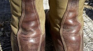 Как прошить ботинки