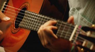 Как играть гамму на гитаре