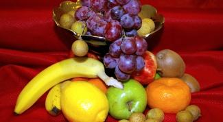 Как нарисовать натюрморт с фруктами