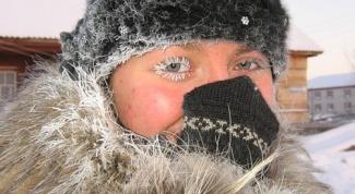 Как одеться в мороз
