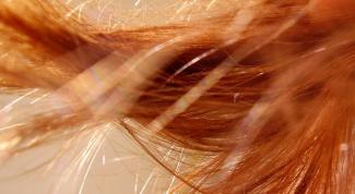 Как смыть рыжую краску для волос