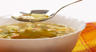 Как приготовить суп из говядины