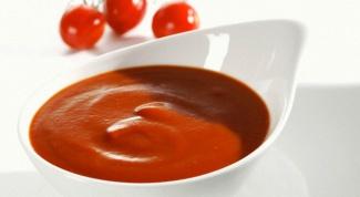 Как приготовить томатный кетчуп