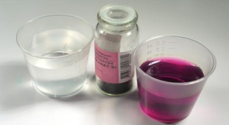 How to make a 5% solution of potassium permanganate
