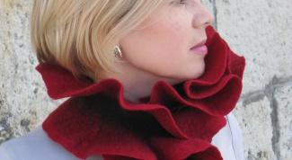 Как правельно завязать шарф