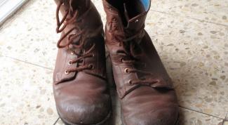 Как отремонтировать ботинки