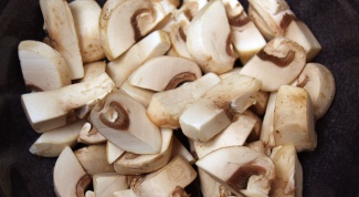 How to cook mushroom julienne