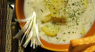 Как приготовить сырный суп с грибами