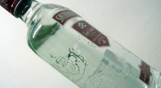 Как отличить паленую водку