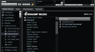 How to listen to radio through Winamp