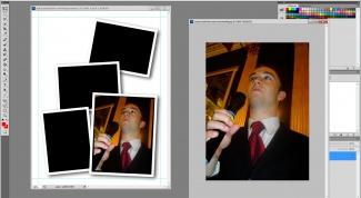 Как вырезать фотографию и вставить другую