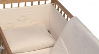Как сшить бампер в кроватку
