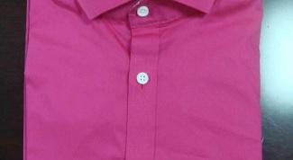 Как покрасить рубашку