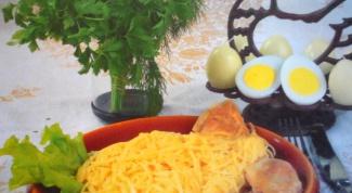 Как приготовить курицу с лапшой