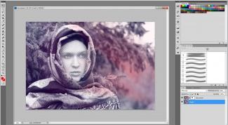 Как вставить лицо в шаблон фотошопа