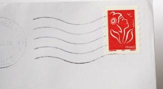 Как отправить письмо в Англию