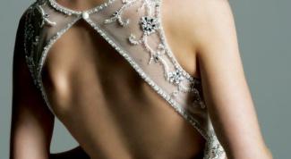 Как сшить платье с открытой спиной