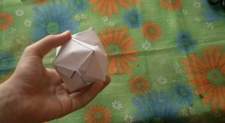 Как сделать бумажную бомбочку