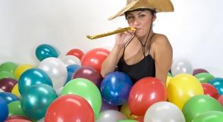 Как надувать воздушные шары