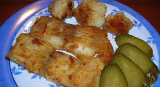 Как приготовить рыбу морской язык