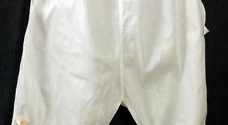 Как сшить панталоны