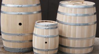 Как изготовить деревянную бочку