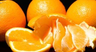 Как вывести пятно от мандарина