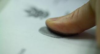 Как сделать отпечаток пальца в 2017 году