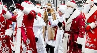 Как сделать посох Деда Мороза