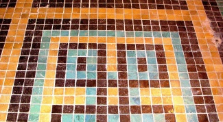 How to glue mosaic