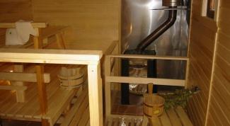 Как сделать печь для сауны