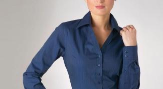 Как носить женскую рубашку