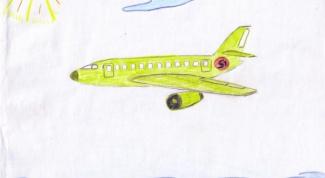 Как нарисовать самолетик в 2018 году