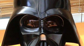 How to make a mask of Darth Vader